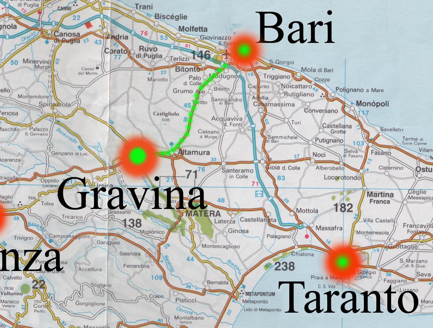 Cartina Di Gravina In Puglia.La Nuova Gravina Vecchia Di Masciandaro Salvatore