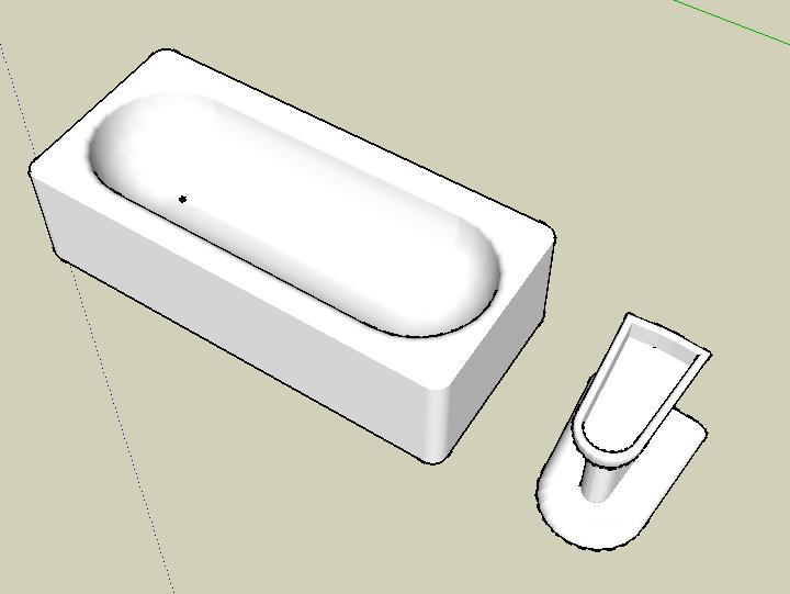 Vasca Da Bagno Disegno : Marchitelli domenico corso di disegno civile assistito da